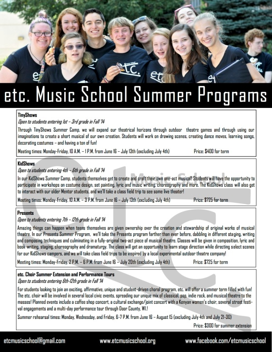 summer programs with prices